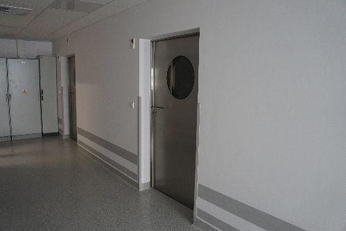 Korytarz w Niepublicznym Zakładzie Opieki Zdrowotnej Malarkiewicz