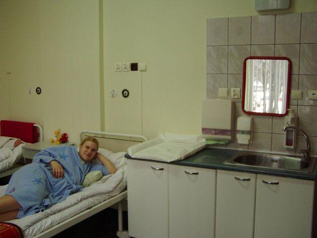 Sala na oddziale Szpitala im. Stanisława Leszczyńskiego w Katowicach