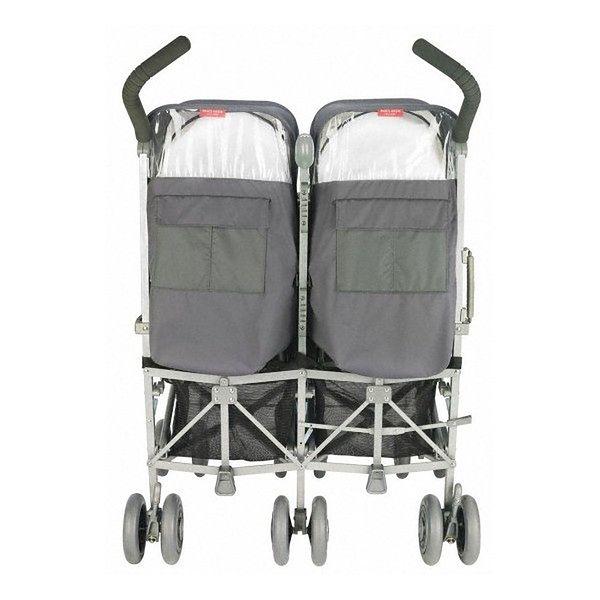 Wózek podwójny Maclaren Twin Techno Charcoal