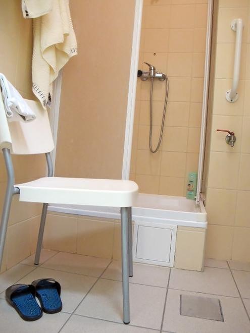 Szpital Bielański - łazienka