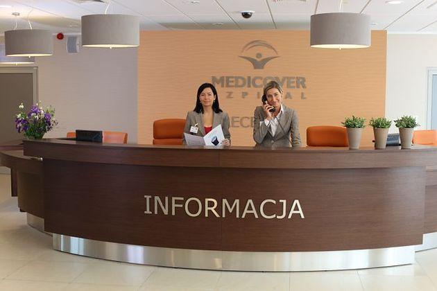 Recepcja Szpitala Medicover