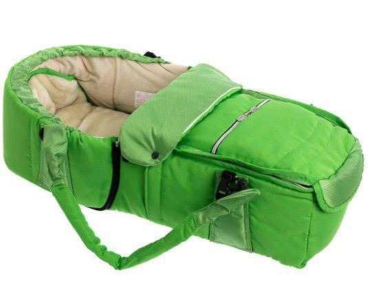 Kokono-śpiwór Emmaljunga Quadrolift PP Lime