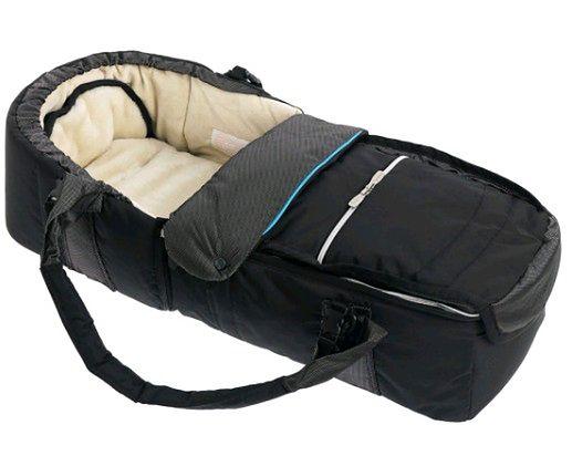 Kokono-śpiwór Emmaljunga Quadrolift PP Black/Blue
