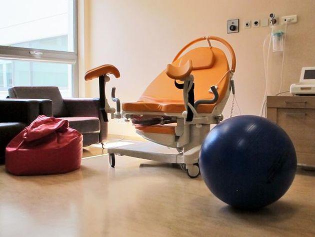 Sala porodowa w prywatnym Szpitalu Medicover