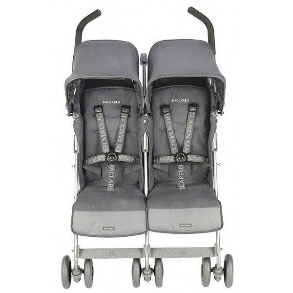 Wózek Maclaren Twin Techno Charcoal