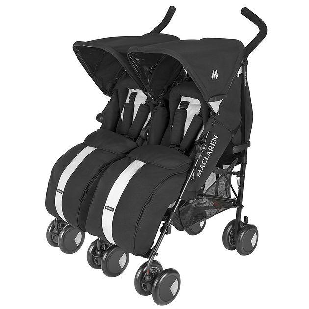 Wózek podwójny Maclaren Twin Techno Black