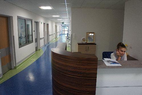 Recepcja w Niepublicznym Zakładzie Opieki Zdrowotnej Malarkiewicz