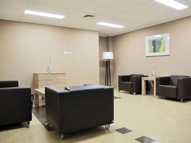 Poczekalnia w Szpitalu prywatnym Medicover