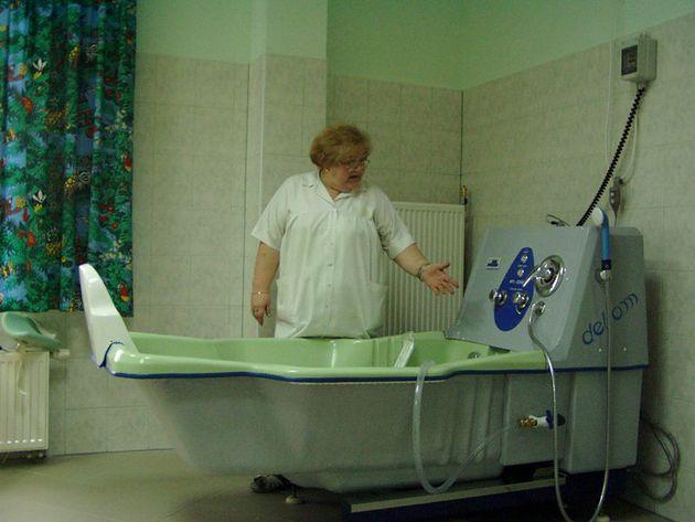 Wanna do porodu w wodzie w Szpitalu im. Stanisława Leszczyńskiego w Katowicach