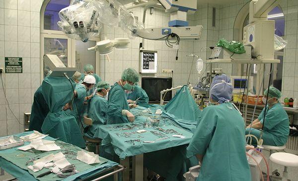 Sala operacyjna w Uniwersyteckim Szpitalu Klinicznym w Białymstoku