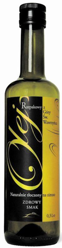 Olej rzepakowy z Góry św. Wawrzyńca Przedsiębiorstwo Rolno-Spożywcze Lech Rutkowski (500 ml)