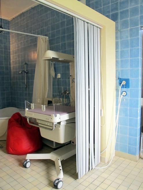 Sala porodowa w Szpitalu Międzyleskim w Warszawie