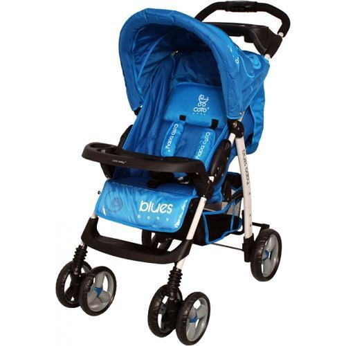 Niebieska spacerówka Coto Baby Blues