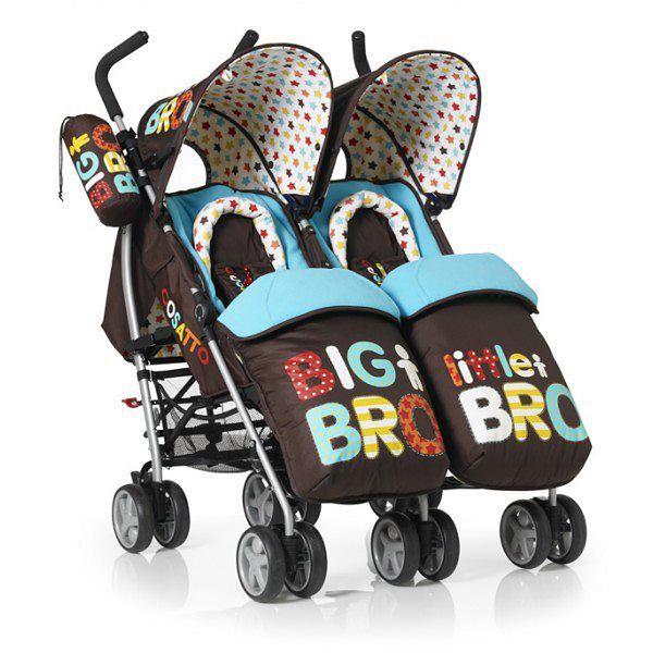 Wózek COSATTO You2 Twin Big Bro-Little Bro z przodu
