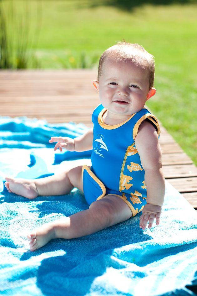 Strój neoprenowy dla niemowląt Babywarma od Konfidence