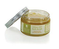 Scrub solny z oliwą z oliwek bio Absolute Organic (420 ml)