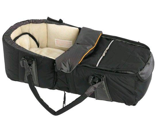 Kokono-śpiwór Emmaljunga Quadrolift PP Black/Orange