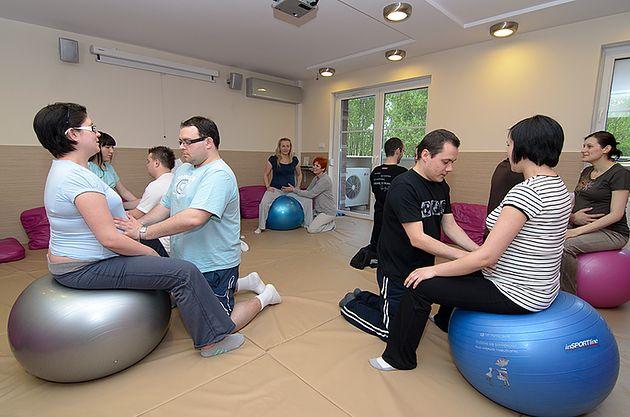 Ćwiczenia w Szkole Rodzenia przy Medycznym Centrum Rodzinnym we Wrocławiu