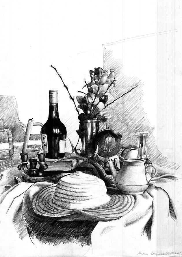 stół - rysunek