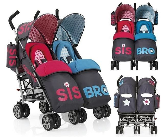 Wózek spacerowy Cosatto You2 Twin Bro&Sis