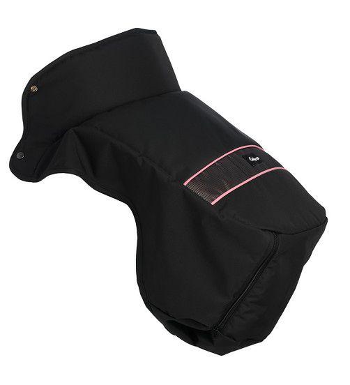 Ocieplacz na nóżki Emaljunga Exclusive PP Black/Pink