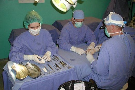 Sala operacyjna Uniwersyteckiego Szpitala Klinicznego w Białymstoku