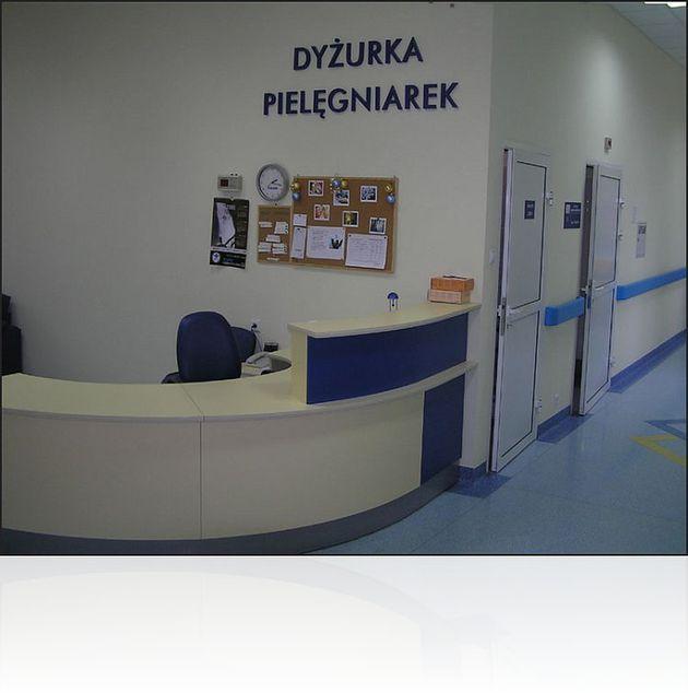 Dyżurka pielęgniarek w Szpitalu im. Gabriela Narutowicza w Krakowie