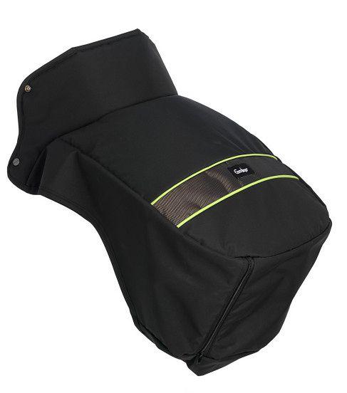 Ocieplacz na nóżki Emaljunga Exclusive PP Black/Lime