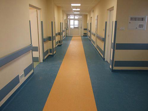 Korytarz Szpitala Klinicznego nr 4 w Lublinie
