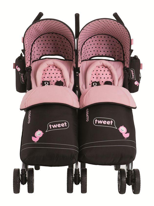 Wózek Cosatto You2 Twin Little Tweeters