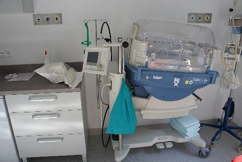 Sala dla noworodków w Niepublicznym Zakładzie Opieki Zdrowotnej Malarkiewicz