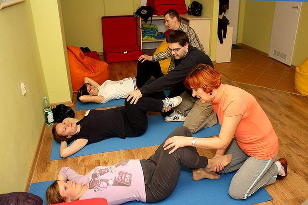 """Szkoła Rodzenia """"Studio Świadomych Narodzin"""" w Suwałkach ćwiczenia relaksacyjne"""