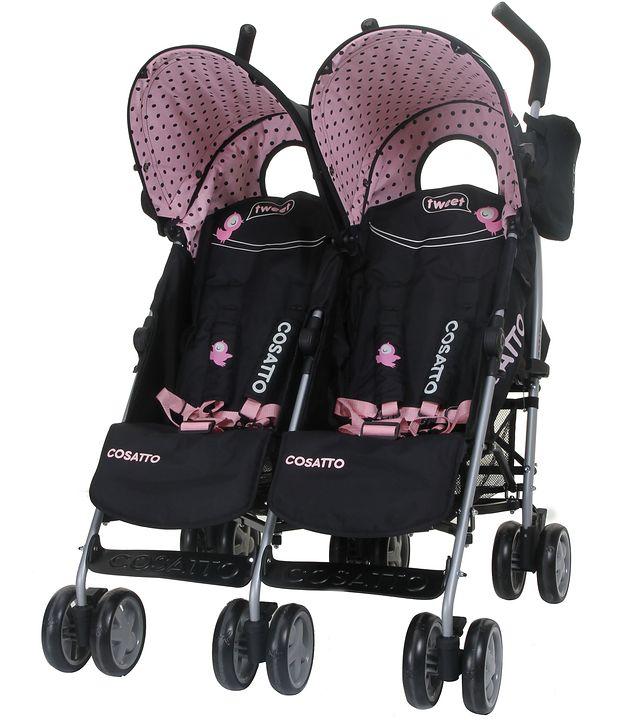 Wózek podwójny Cosatto You2 Twin Little Tweeters