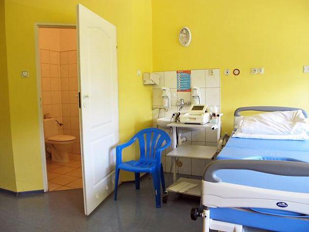 Sala pobytowa w Szpitalu na Solcu w Warszawie
