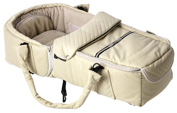 Kokono-śpiwór Emmaljunga Quadrolift Creme Leatherette