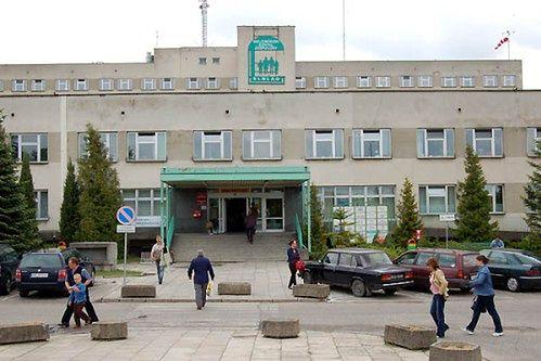 Budynek szpitala od zewnątrz