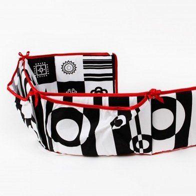 Ochraniacz De Lux 140/70 White&Black – Bańki