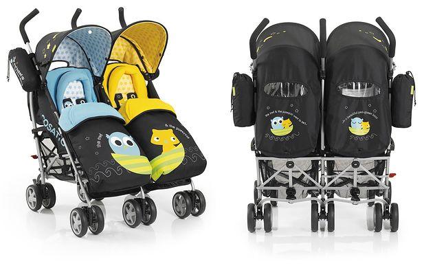 Wózek bliźniaczy Cosatto You2 Twin Owl&Pussycat