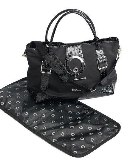 Torba pielęgnacyjna Emmaljunga Style Black Leatherette