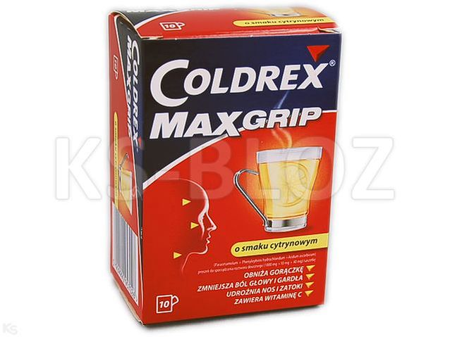 Coldrex MaxGrip (sm. cytryn.)