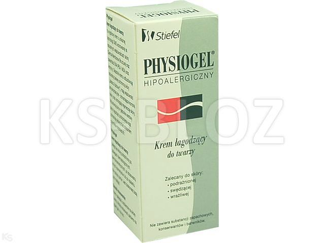 PHYSIOGEL FACE CREAM Krem hypoaler.d/podr.sk.tw.