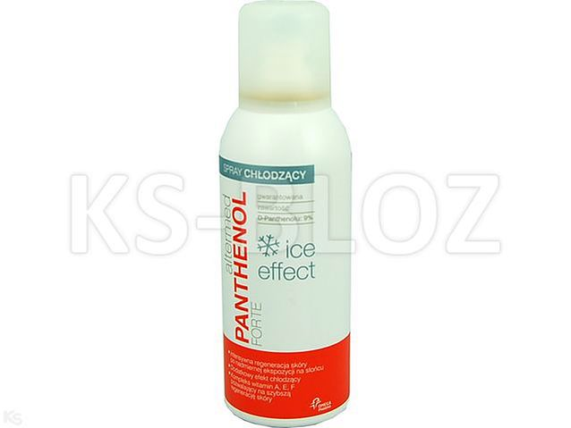 PANTHENOL FORTE ICE EFFECT Spray 9%