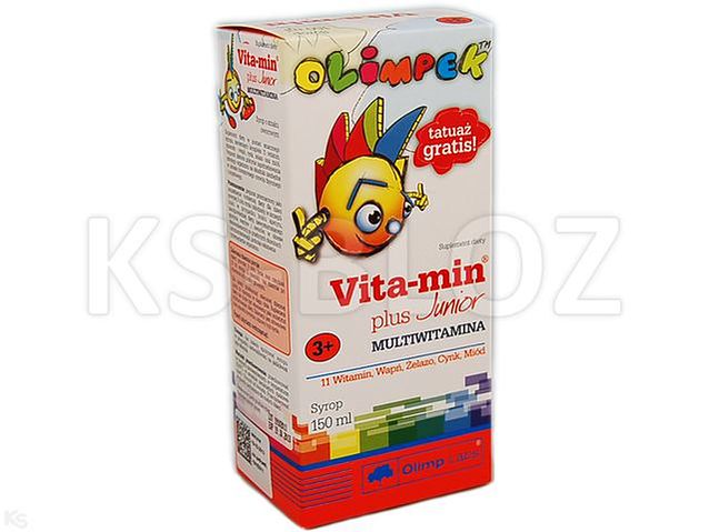 OLIMPEK Vita-Min Plus Junior Multivitamina
