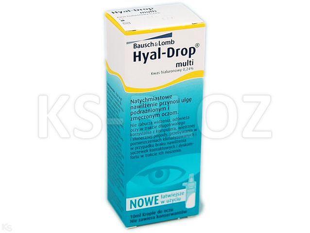 3ff0d225539e19 Hyal Drop Multi Krople d/oczu/soczew.nawil. - Leki i suplementy ...