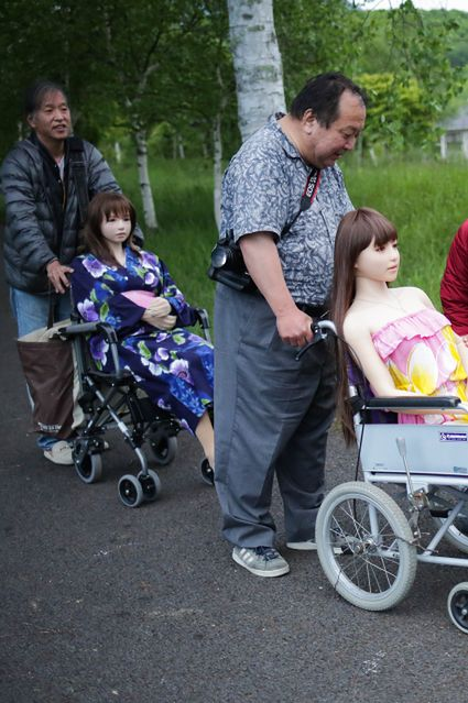 japońskie silikonowe lalki erotyczne