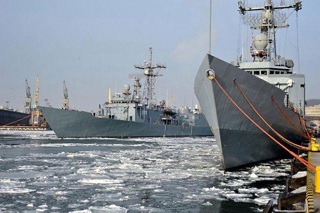 Polski okręt wojenny obrał kurs na Norwegię - zdjęcia