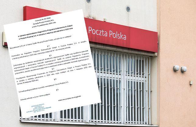Rusza program dobrowolnych odejść w Poczcie Polskiej