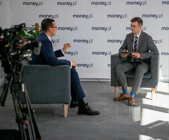 Premier Mateusz Morawiecki w rozmowie z money.pl poruszył kwestie polityki społecznej rządu PiS