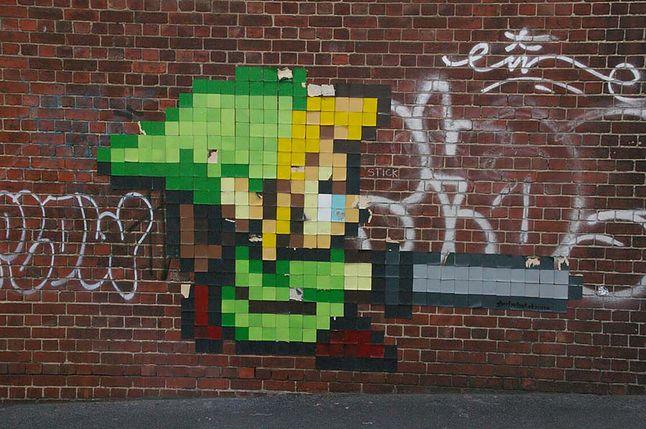 Od Mario po Superhota - growe graffiti i murale [Galeria]