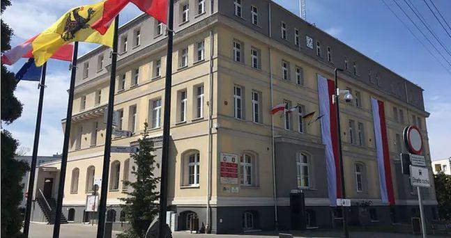 Budynek urzędu miasta w Sztumie